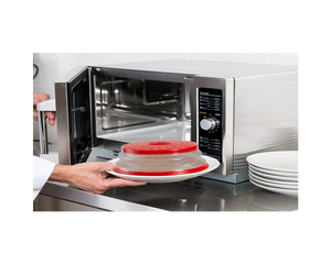 Collapsible Microwave Plastic Cover