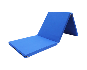 Foldable Exercise Mat  Blue 180cm