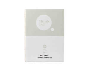 Think Cup Reusable Drinking Cup 12oz Stone