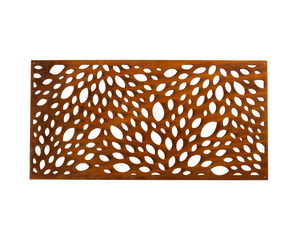 Garden Corten Steel 120 x 60  Screen CSP02