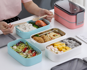 Bento Lunch Box Blue