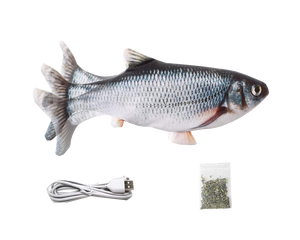 Electric Moving Fish Toy For Cat