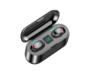 Wireless Bluetooth Earphone F9 Black