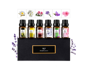 Aromatherapy Essential Oil 6 ps Gift Pack