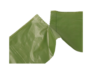 150 Biodegradable Dog Poop Bags with Dispenser Green