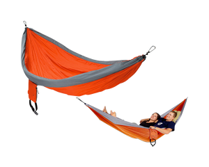 Double Parachute Hammock Orange