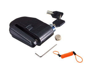 Motorcycle  Disc Lock Alarm W/ Cable
