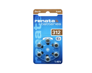 312 Hearing Aid Batteries
