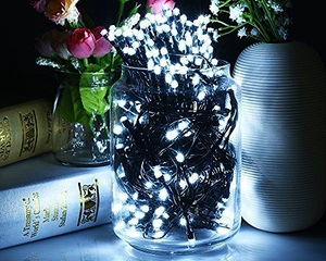 Solar Fairy Lights 200LED 20M White