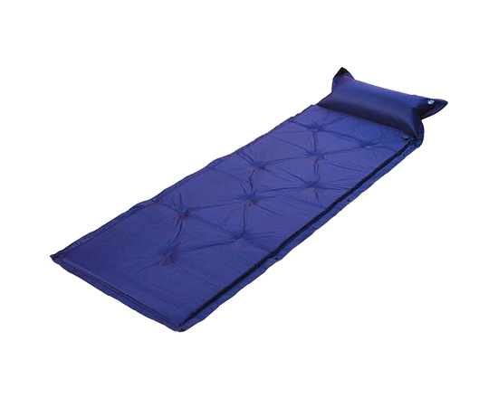 Single Self Inflating  Mat Blue