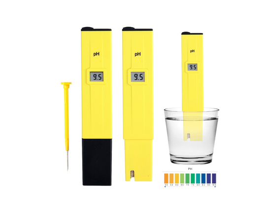 Digital PH Tester Yellow