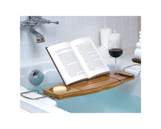 Bamboo Bathtube Caddy