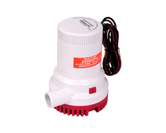 12V Bilge Pump 2000GPH Submersible