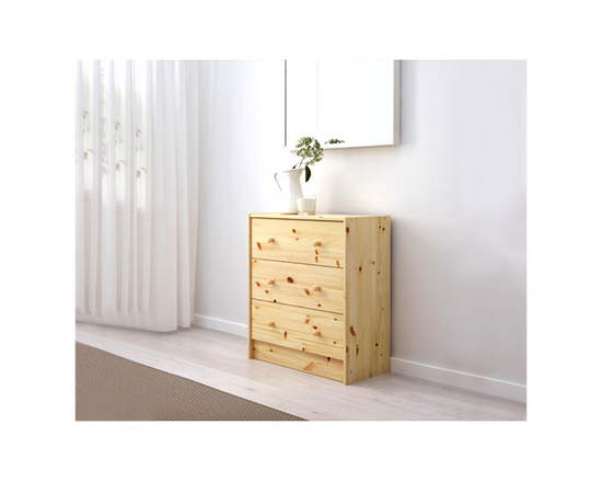 IKEA RAST Clothes Drawer 3 Drawers Pine