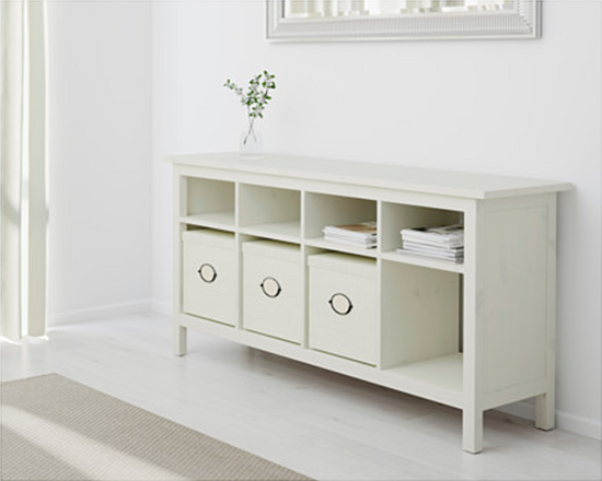 IKEA HEMNES Console Table White