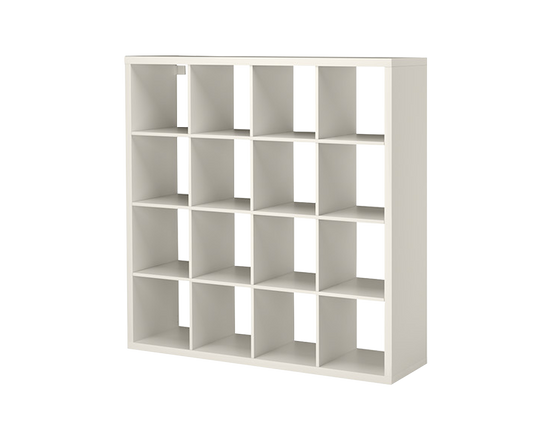 IKEA Kallax Shelf Bookcase Organizer 4x4 White