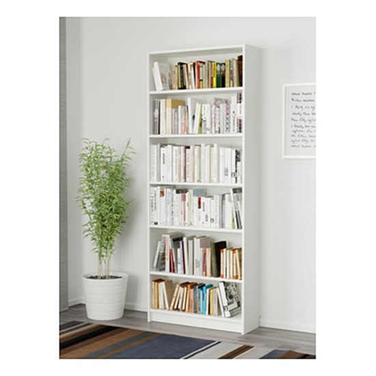 IKEA Billy Bookcase Bookshelf  White 80x28x202cm