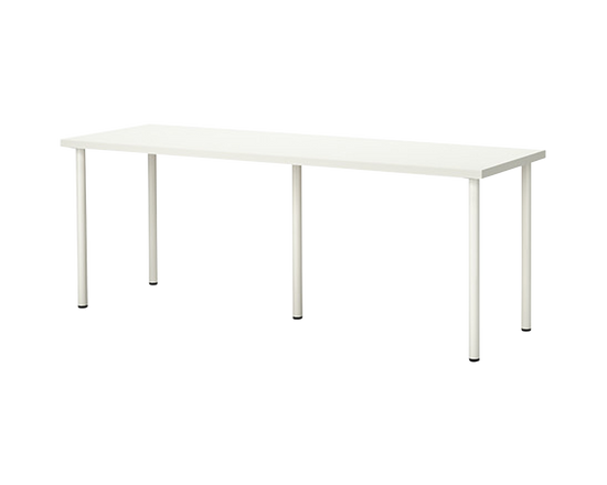 IKEA Linnmon Table White 200x60cm