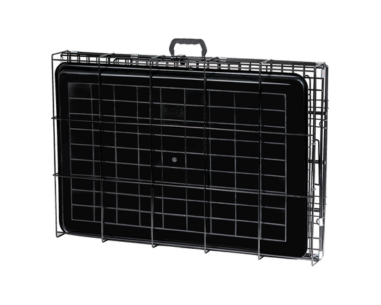 24 Inch Dog Crate Kennel Double Door