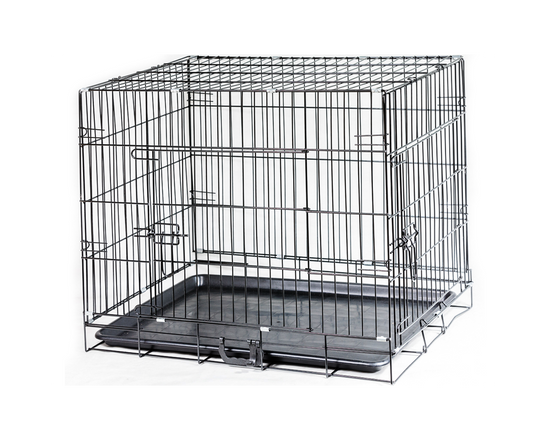 DOG CAGE KENNEL COLLAPSIBLE 35 INCH