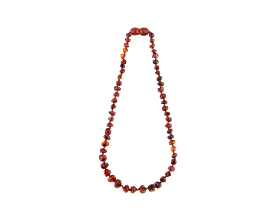 Amber Teething Necklace Cognal