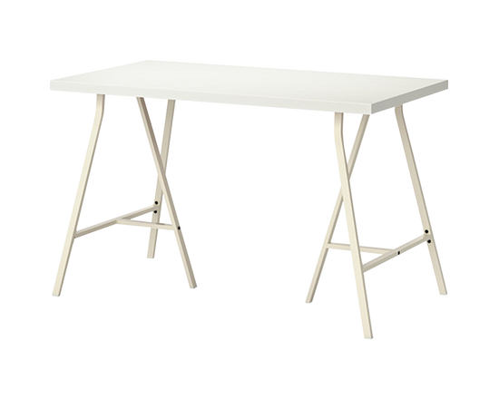 IKEA LINNMON LERBERG Table White