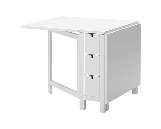 NORDEN Gateleg table White