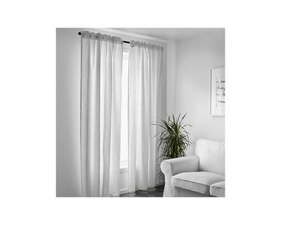IKEA Aina Curtain White