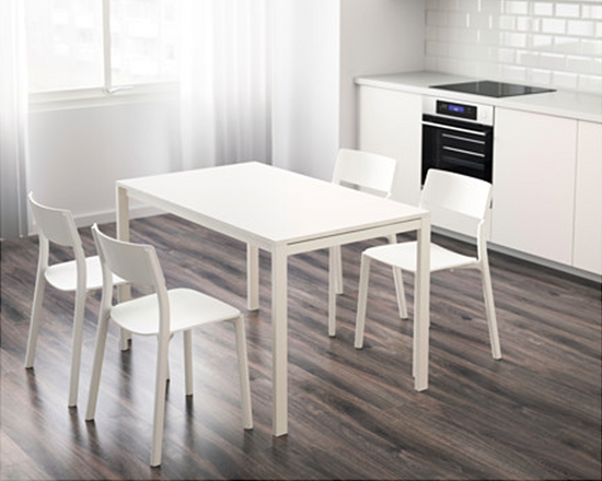 Melltorp Table 125x75cm white