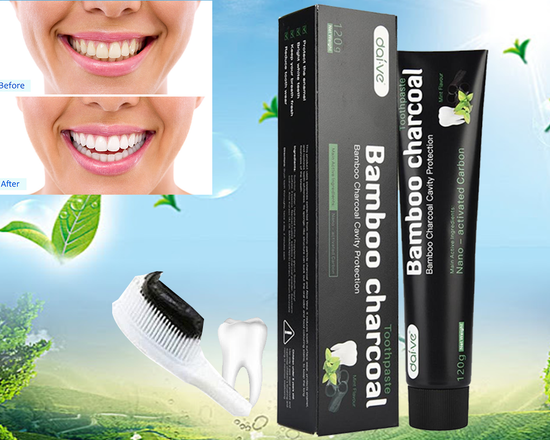 3 x Teeth Whitening Charcoal Toothpaste