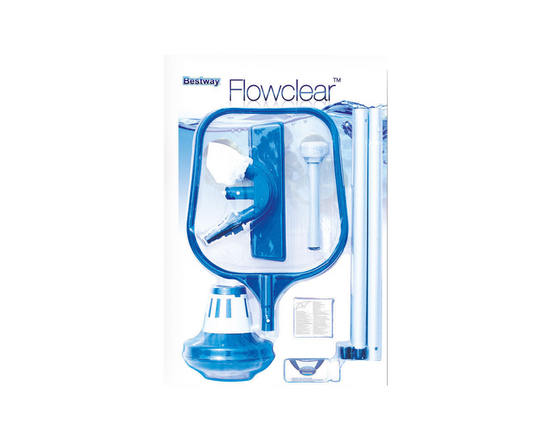 bestway flowclear pool cleaning kit package