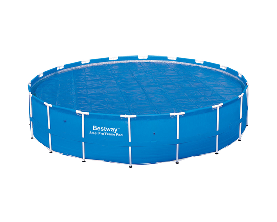 18ft Bestway Solar Swimming Pool Cover for Steel Pro and Power Steel