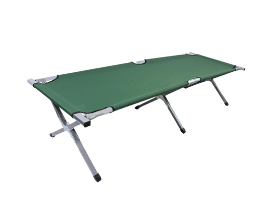 Foldable Camping Stretcher Green