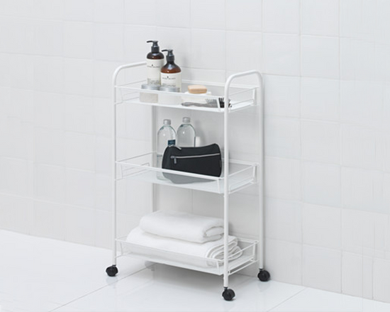 IKEA HORNAVAN Kitchen Trolley White