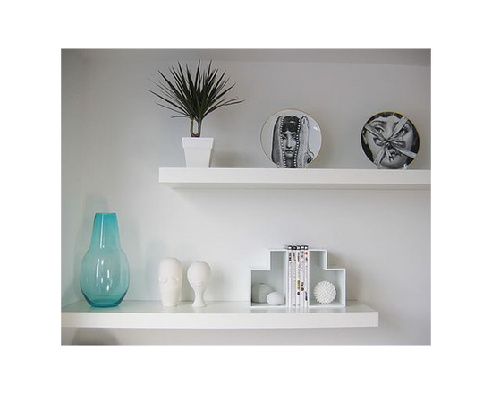 IKEA KALLAX Floating Shelves  White