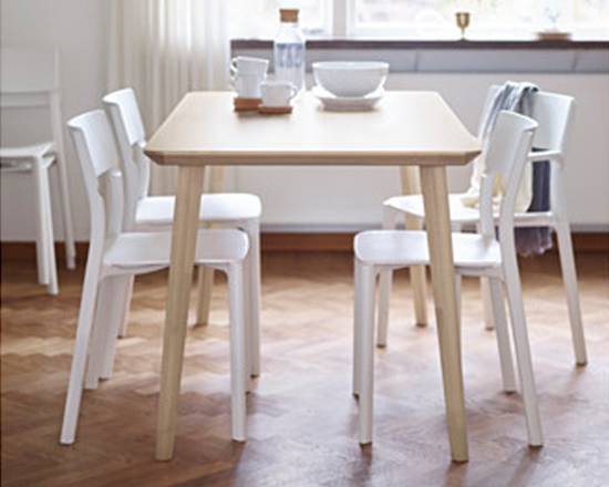 LISABO Dining Table ash veneer
