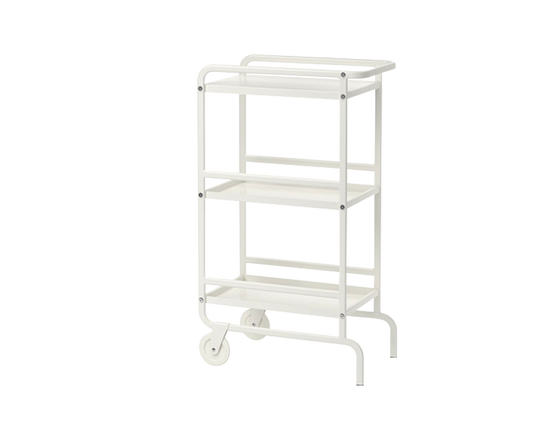 SUNNERSTA Trolley white
