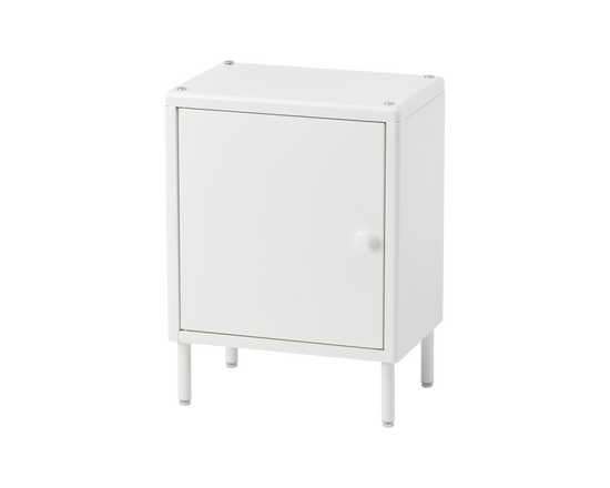 IKEA DYNAN Storage Cabinet With Door  White