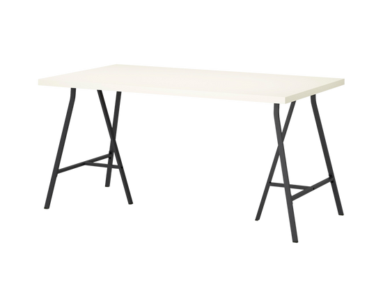 IKEA LINNMON Table White 150x75cm