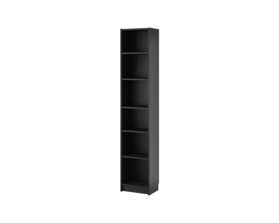 IKEA BILLY Bookcase Shelf Cabinet 40x28x202cm Black