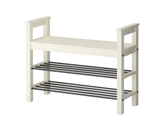 IKEA HEMNES  Shoe Storage Bench White