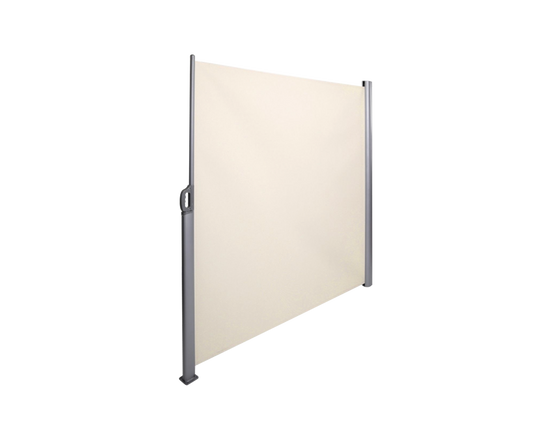 Retractable Awning Side Screen Beige 1.8x3M