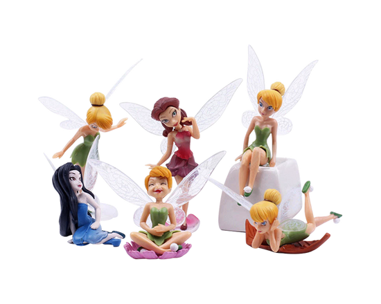 Fairy Garden Ornament 6Ps