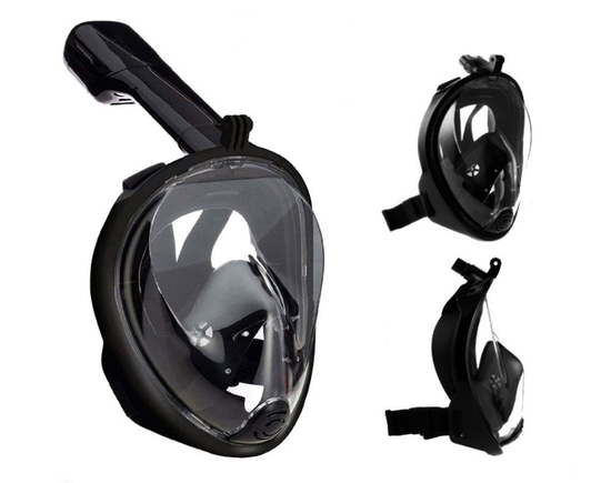 Diving Snorkel Full Face Mask L-XL