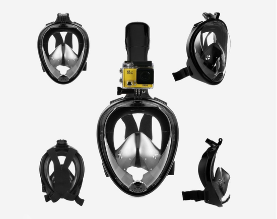 Diving Snorkel Full Face  Mask  S-M