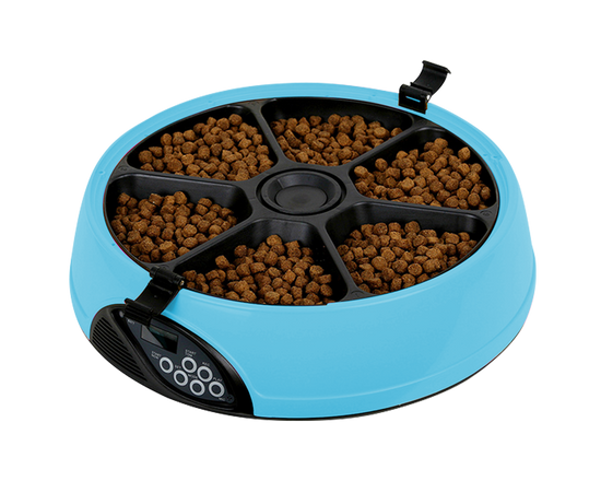Automatic Pet Meal Feeder Blue