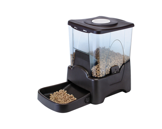 Automatic Pet Feeder 10L Black