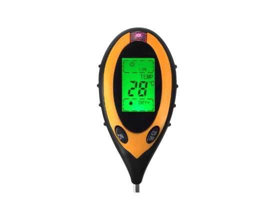 4-in-1 Soil PH Thermometer Tester