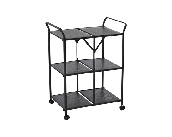 ELIAS MOCCA Kitchen Trolley Black