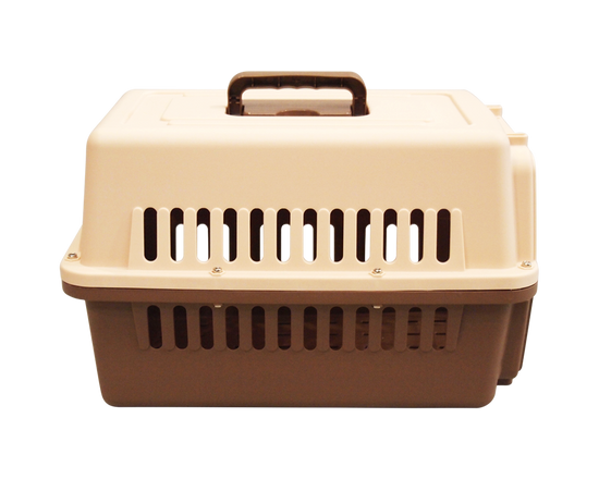 Pet Carrier Cage  Airline Approved Brown